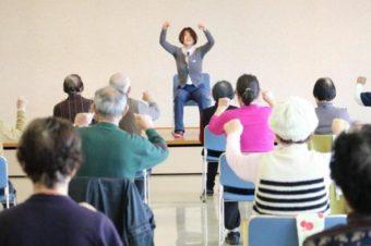 歌いながらの高齢者健康体操