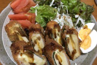 たんぱく質豊富!高野豆腐フライ