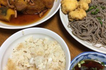 鯛めし&ハモの天ぷら〜❤️